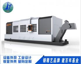 数控车床外观设计 机械设备外壳工业设计