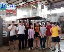 河北农大机电工程学院大学生在我司实习并圆满结束