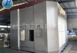 辽宁客户来厂对大型机械设备钣金外壳进行预验收
