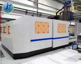山东龙门铣床外防护工业设计 机器外罩钣金加工价格