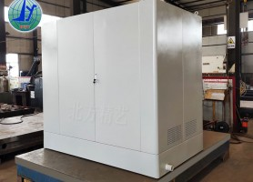 过滤系统设备外壳钣金加工厂 北方精艺非标机器外观设计
