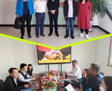 河北科技大学副院长一行来我司进行技术交流